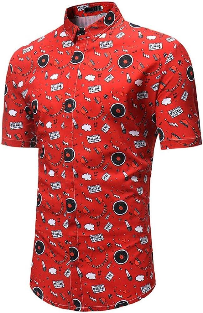 Camisetas con Botones para Hombres, Camisa con Esmoquin Floral ...