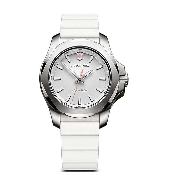 Victorinox Reloj Digital para Mujer de Cuarzo con Correa en Caucho 241769: Amazon.es: Relojes