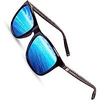 Sunmeet Gafas de sol Hombre Polarizadas Clásico Retro Gafas de sol para Hombre UV400…