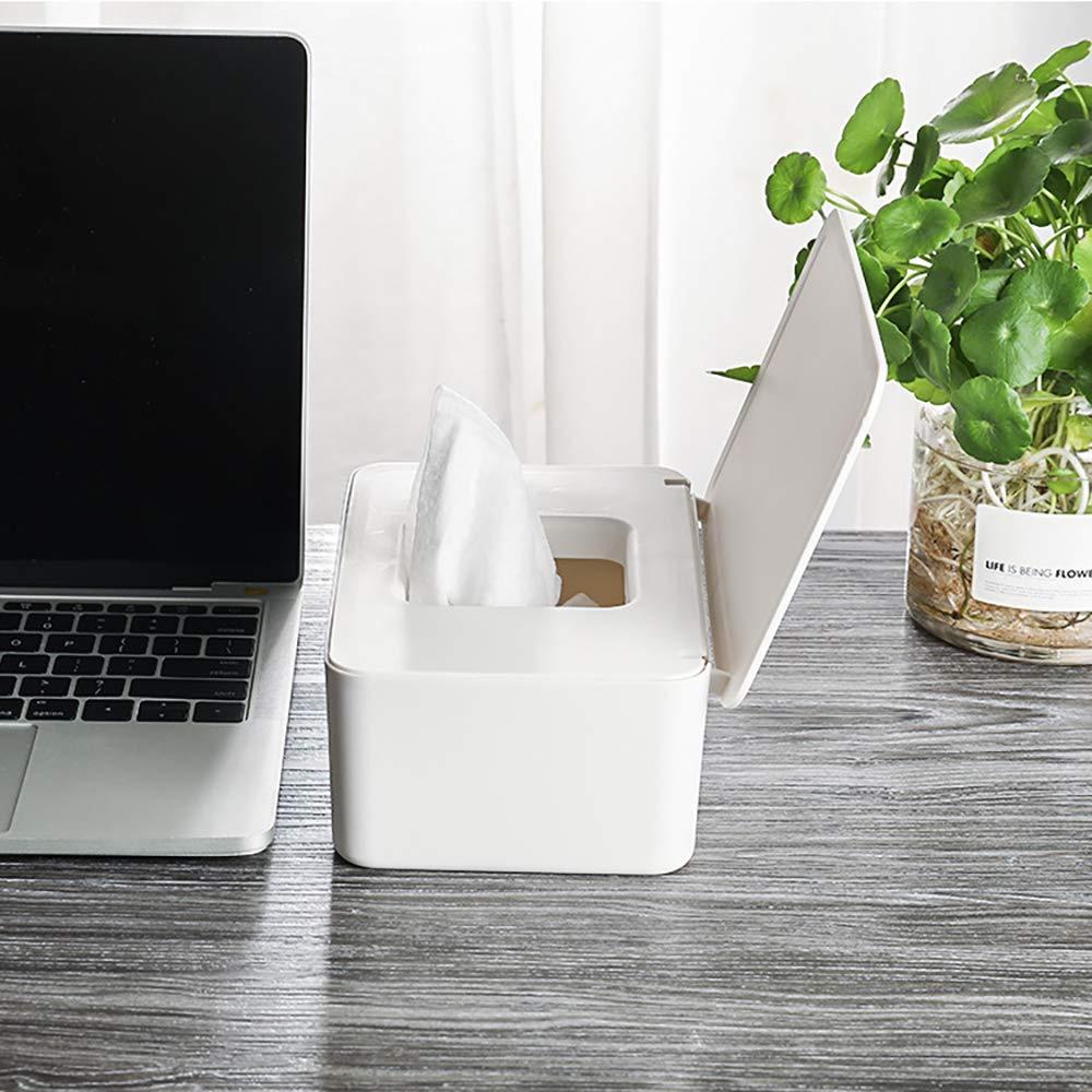 Caja de toallitas para beb/és Zunbo Dispensador de toallitas de pa/ñal Caja de calentador de toallitas para beb/és Caja de esterilizaci/ón de toallas de papel