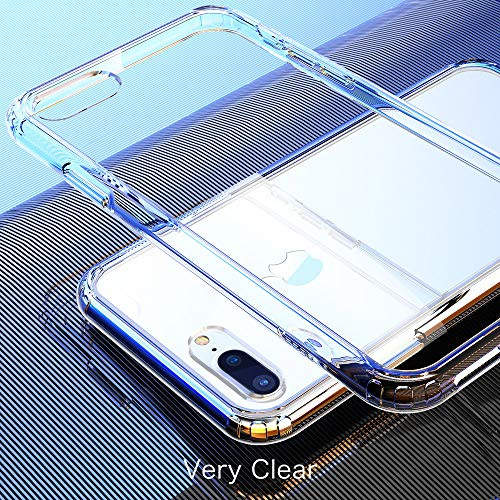 Mkeke Compatible with iPhone 8 Plus Case,Compatible with iPhone 7 Plus Case Clear Shock Absorption Cases for Both iPhone…