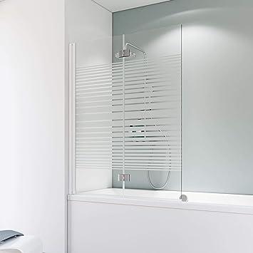 Schulte A796 04 72 Komfort - Mampara para bañera, color blanco ...