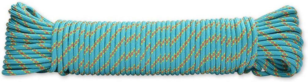 GVNCO Cuerda de Escalada, 10M/20M/30M 6mm Cuerda Auxiliar de ...