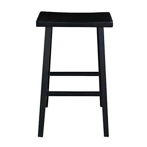 International Concepts 29-Inch Saddle Seat Barstool
