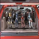 Saris Unique Mount Triple Track Fork Mount Bike Racks for Truck, Vans or Indoor Storage (47-Inch) by Saris