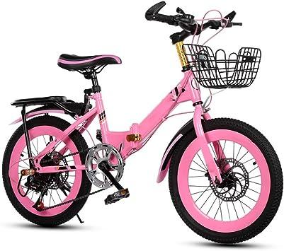 Axdwfd Infantiles Bicicletas Bicicletas para niños 18/20 Pulgadas, Bicicleta para niños de Acero al Carbono con Rueda de Entrenamiento Regalo para niños y niñas de 5 a 11 años: Amazon.es: Deportes y