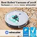 eufy BoostIQ RoboVac 11S (Slim), Robot Vacuum Cleaner, Super-Thin, 1300Pa Strong Suction, Quiet, Self-Charging Robotic Vacuum Cleaner, Cleans Hard Floors to Medium-Pile Carpets