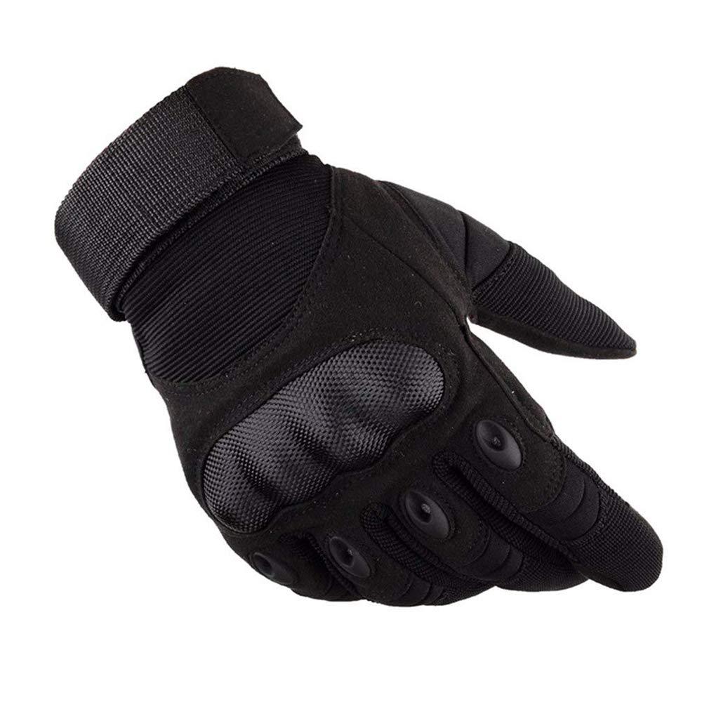 Winddichte Mä nner Harte Knö chel Vollfinger Handschuhe schü tzende Fahrrad Cross Country Motorrad Handschuhe Hellomiko