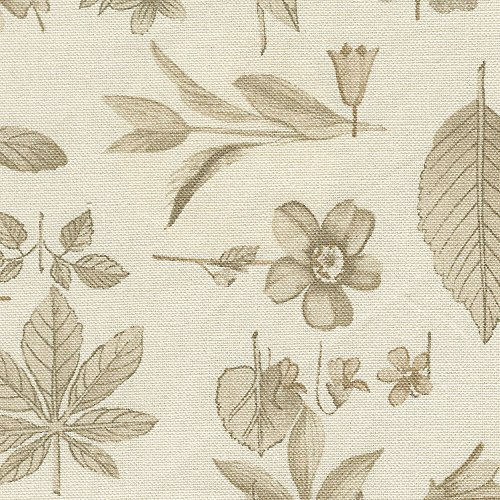 Longaberger Large Catch All Basket Natural Botanical Fabric