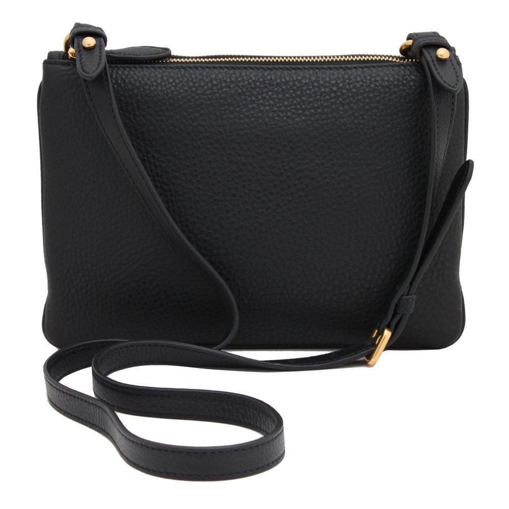 768aaf43d402 Prada Women s Vitello Phenix Crossbody 1BH013 Black  Amazon.ca  Shoes    Handbags