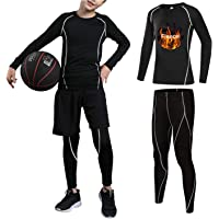 Amazon Best Sellers: Best Boys' Athletic Base Layers