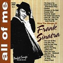 All Of Me: Sing The Songs of Frank Sinatra (karaoke)