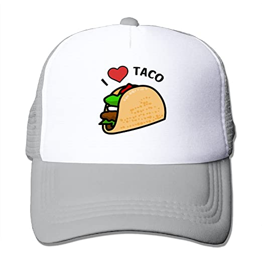 Men's Hats Tacos Dog Custom Men And Women Fashion Hip Hop Baseball Cap Adjustable Snapback Trucker Hat Apparel Accessories
