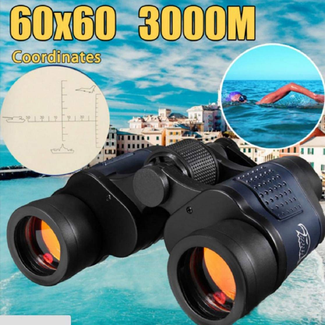 Vacally 20x50 HD Binoculars Telescope 10Times Night Vision High Power Multilayer Coating,High Definition Spotting Scope with Zoom - Fully Multi Coated Optical Glass Lens,Includes Tripod by Vacally
