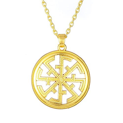 Amazon com: Religious Slavic Amulet Charms Pendant Necklaces with