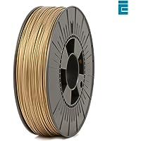 ICE FILAMENTS ICEFIL1PLA107 PLA Filament, 1.75 mm, 0.75 kg, Groovy Gold