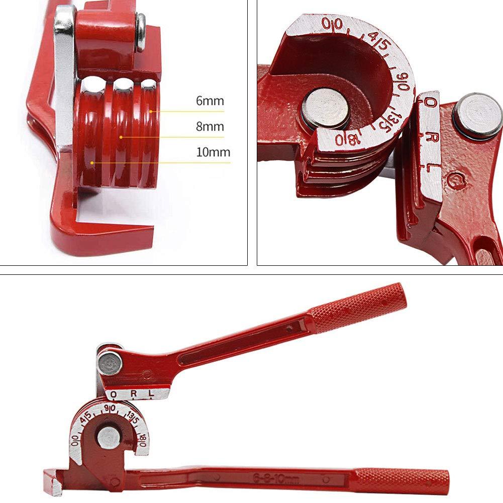 Pipe Bender for Plumbing Gas Copper Tubing 6mm 8mm 10mm OD 24 Bend Radius