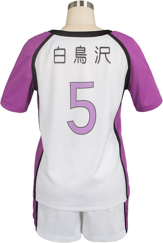 Haikyuu! Shiratorizawa School Uniform Tendo Satori Cosplay Jersey Sportswear