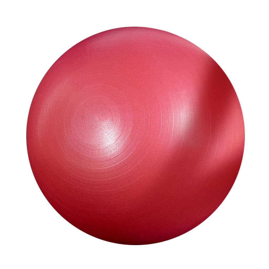 65 cm Übungsball Yoga Ball Pilates Schwangerschaft Männer und Frauen Anti-Burst Anfänger Office Home Gym Balance Workout Fitness