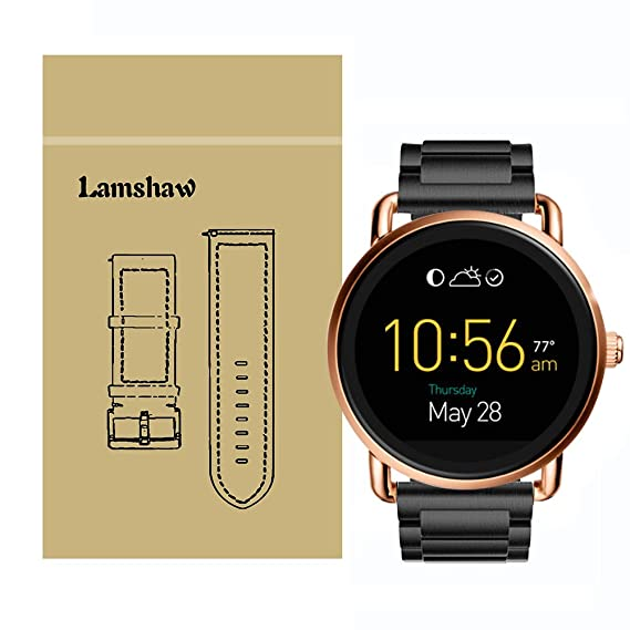 Amazon Com Lamshaw Smartwatch Band For Fossil Q Wander Gen 1 Gen 2