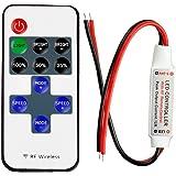 homiki Mini Controller LED Dimmer + RF Télécommande Sans Fil Télécommande Variateur de Luminosité LED Lampe Chaîne
