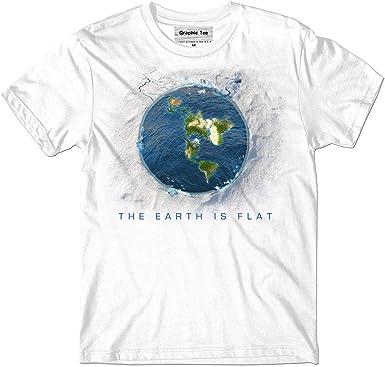 Flat Earth t-shirt Earth is flat Infinite Plane Firmament New World Order