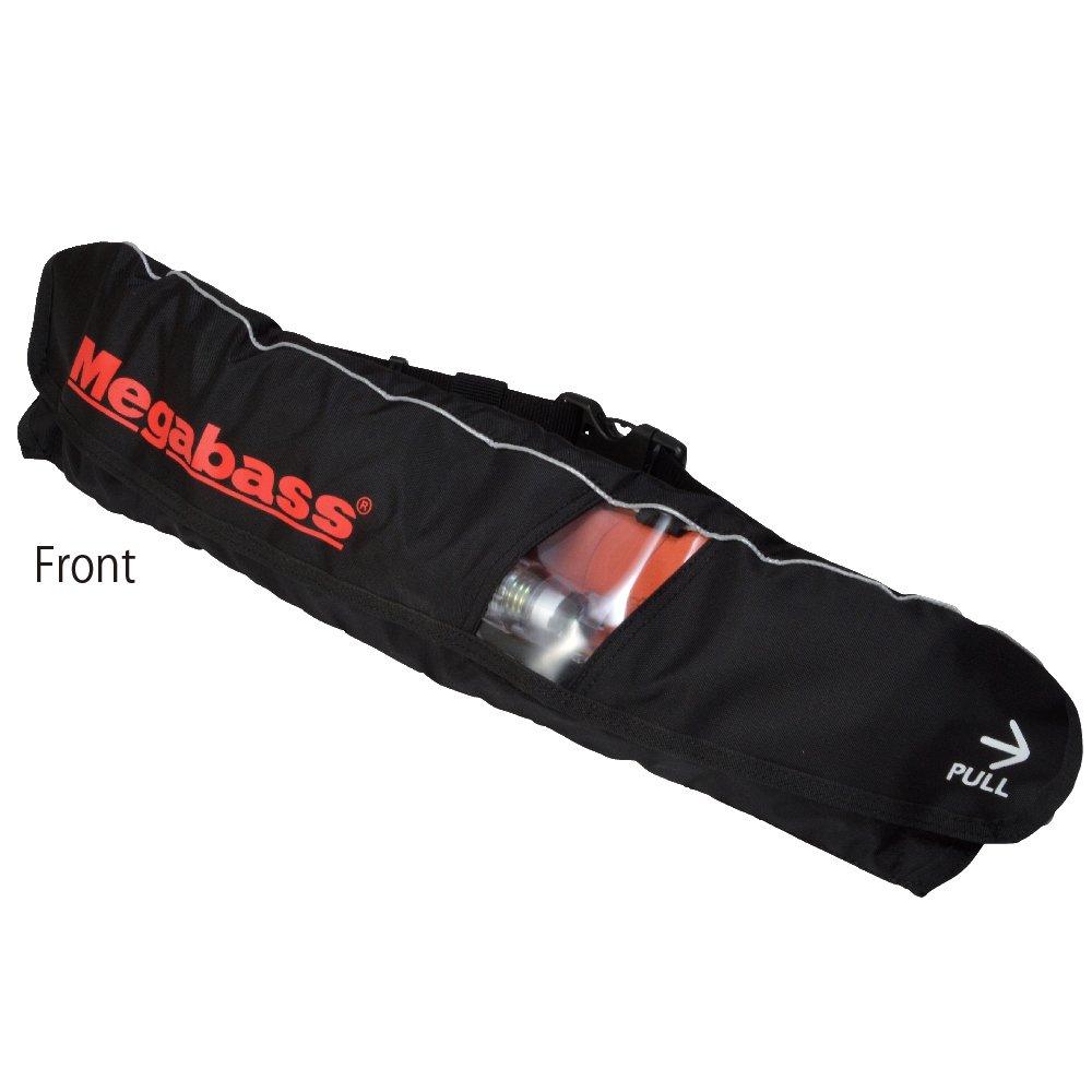 メガバス(Megabass) LIFE SAVER(WAIST)(ライフセーバー) BLACK MEGABASS 34521   B01ESQRWG6