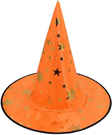 Halloween Witch Hat Kids Adults WIzard Fancy Dress Costume Accessory Witches Hat