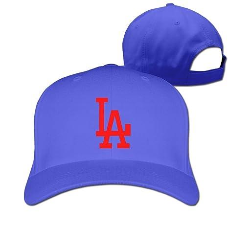 xcarmen Unisex los angeles la Logo gorra de béisbol Black Roya ...