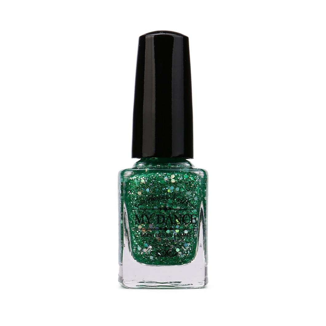 Nagellack, FEITONG Gel Nagel Manicure 6ml Diamant Glitzer Nagellack ...