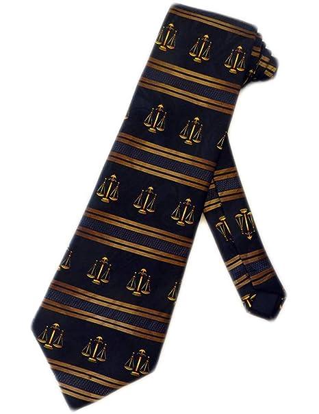 Corbata Para Hombre Abogado Escalas De Justicia Corbata Corbata ...