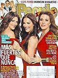 * LAS 25 MUJERES MAS PODEROSAS * Barbara Bermudo, Gaby Espino, Alicia Machado, Luis Fonsi - People En Espanol Periodico/Magazine