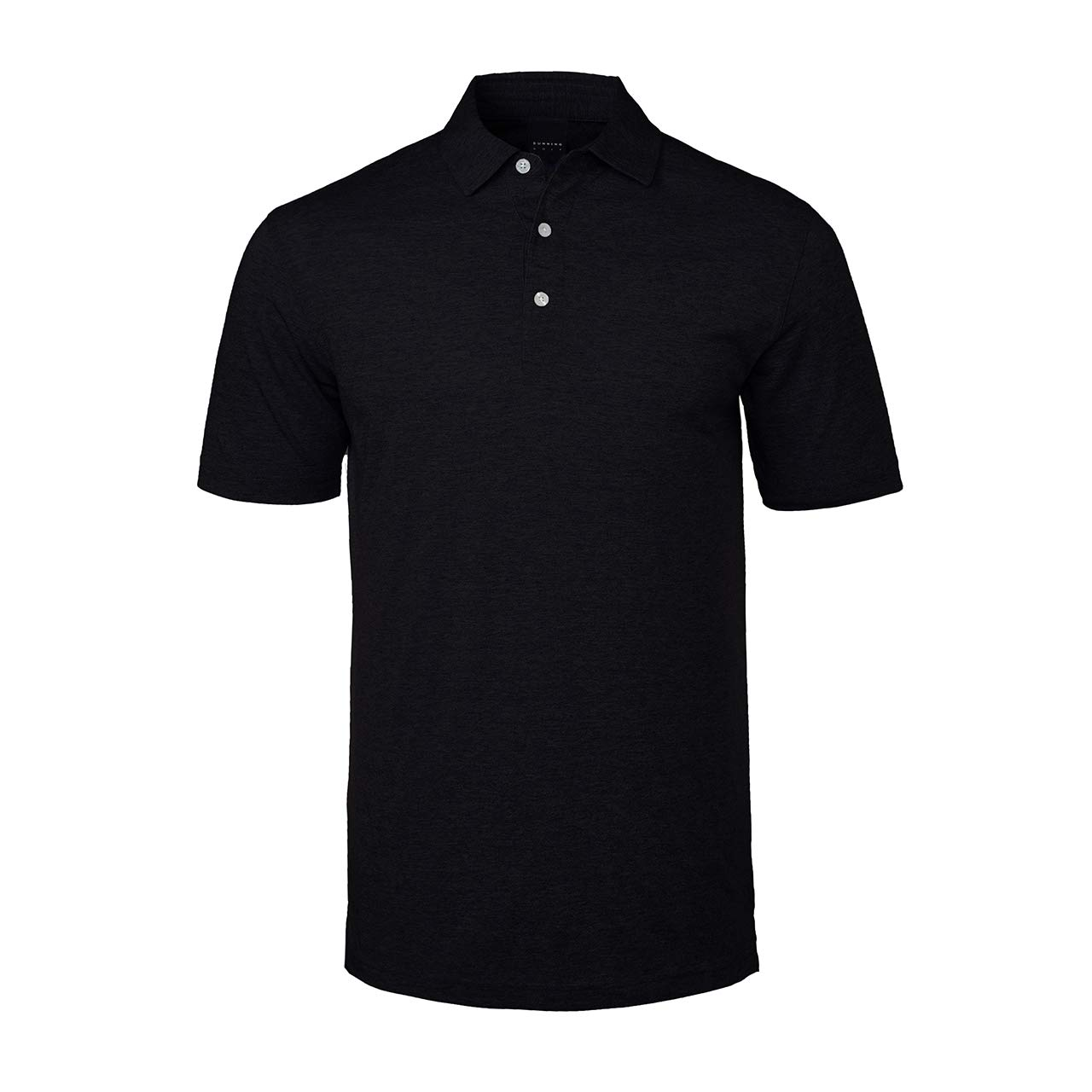 Amazon Dunning Mens Natural Hand Polo Black M Sports Outdoors