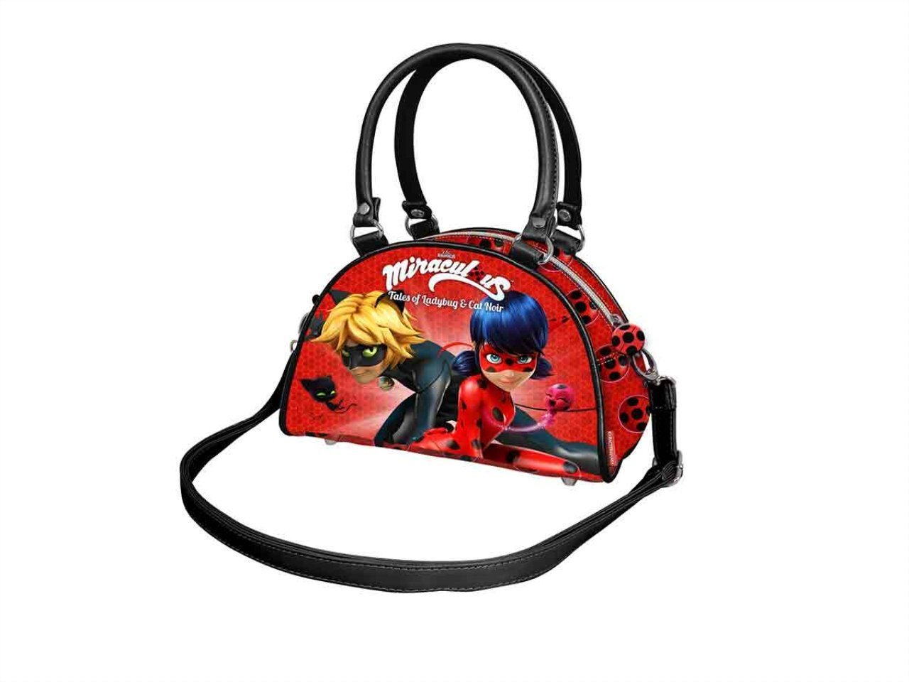 Rojo Ladybug Defenders Sac bandouli/ère Rouge 22 cm