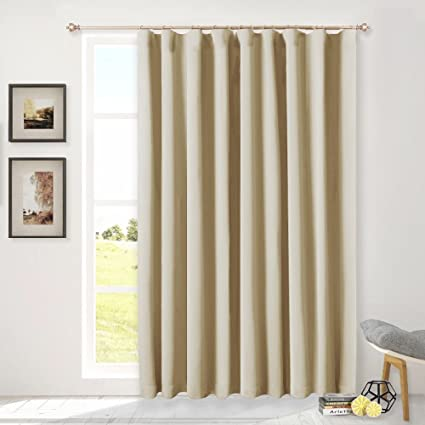 NICETOWN Blackout Sliding Glass Door Curtains, Patio Door Blinds, Luxury  Home Room Darkening Curtains - Amazon.com: NICETOWN Blackout Sliding Glass Door Curtains, Patio