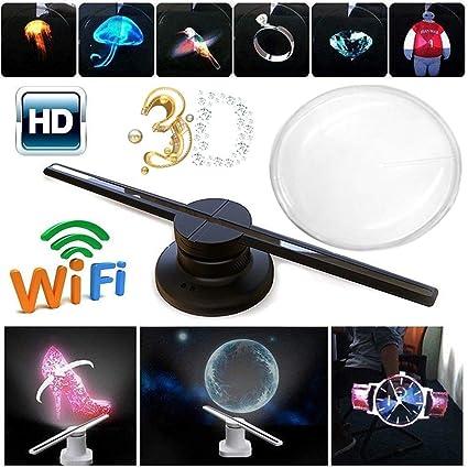 Holograma LED 3D,Proyector De Holograma 3D Ventilador De ...