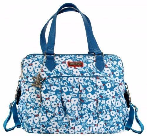 Kalencom Berlin Diaper Bag in Berry Blossom