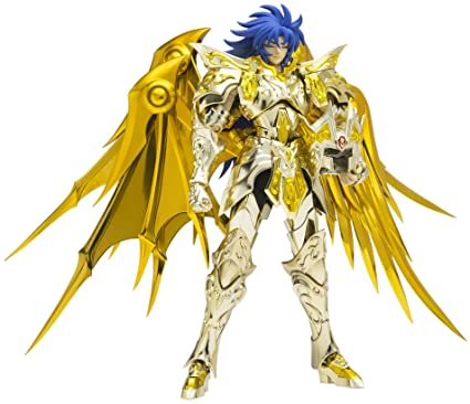 Great Toys Saint Seiya Myth Cloth EX Saga de Geminis Soul Of Gold Metal gold