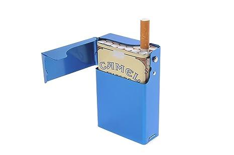 Quantum Abacus Caja/Funda de Aluminio, para 18 Cigarrillos ...