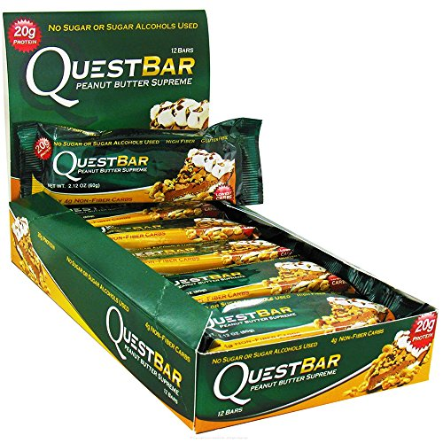 Quest Bars-Peanut Butter Supreme 24 Bars