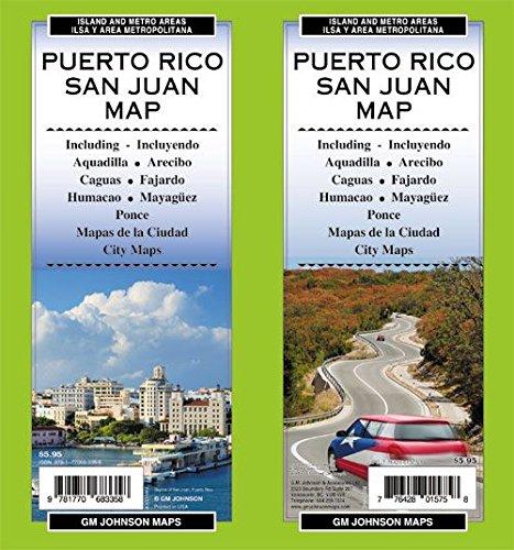 - Puerto Rico- San Juan Map GMJ 2014