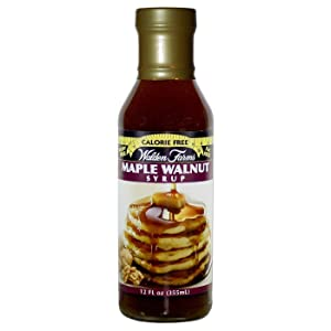 Walden farms Calorie Free Maple Walnut Syrup 12 oz
