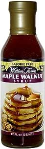 Walden Farms Syrup Maple Walnut