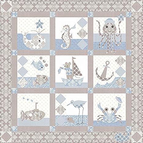 Amazon com: Bunny Hill Designs Sailor Baby Quilt Pattern