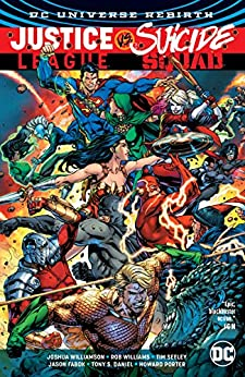 Justice League vs. Suicide Squad (2016-2017) by [Williamson, Joshua, Williams, Rob, Seeley, Tim]