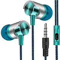 Gfone Cuffie Audio di Alta qualità, Auricolari in-Ear e Auricolari con Controllo del Microfono