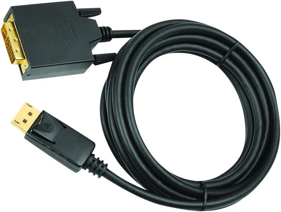 10 QVS DPDVI-10 Display Cable Black