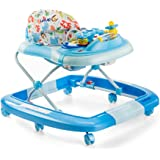 Luvlap Grand Baby Walker with Rocker (Blue)