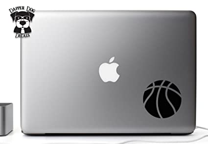 Basketball 5 Inches Vinyl Decal Sticker for MacBook Air Pro Laptop Notebook  Auto Great Gift Mac PC Computer