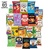 Gluten Free Healthy Snacks, Mixed Bag of Treat Snacks Includes Veggie, Popcorn and Gummy Snacks Care Package (24 Count) For Sale